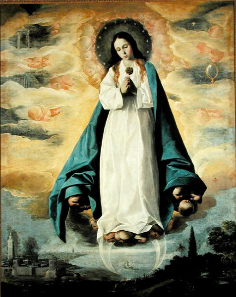 The Immaculate Conception by Francisco de Zurbaran