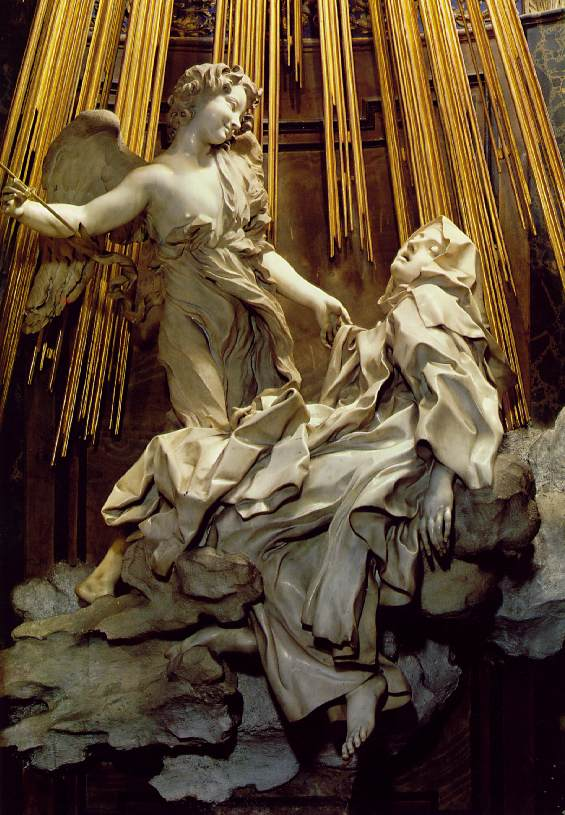 Ecstasy of St. Theresa by Bernini